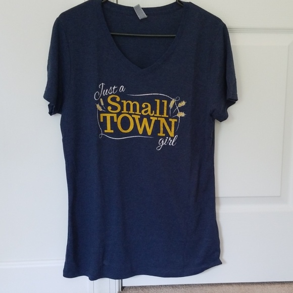 1c1a9007cda2 Tops | Small Town Girl Womens V Neck Tshirt | Poshmark